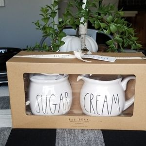 Rae dunn cream and sugar canisters